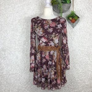 American Rag Boho Chic Floral Dress | S